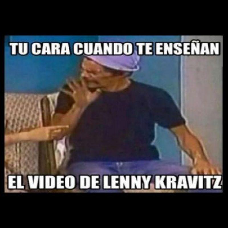 Foto:Vía Twitter/#LennyKravitz