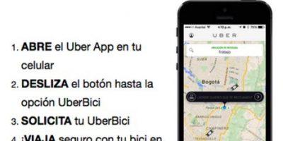 VIDEO: Así es como funciona UberBici