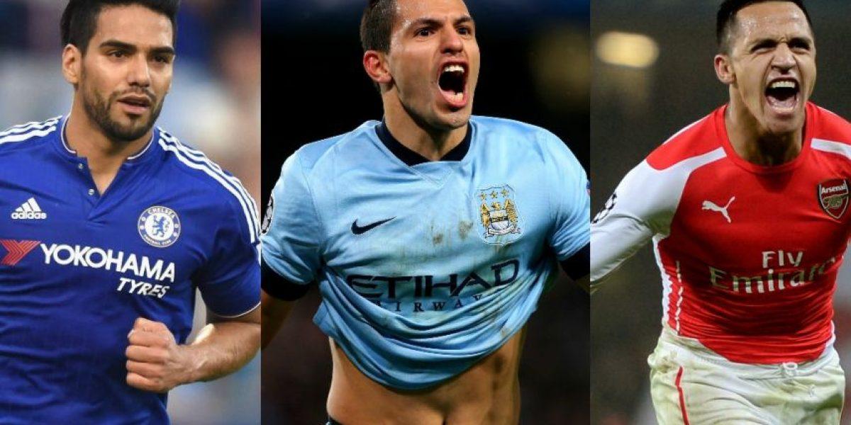 FOTOS: El 11 ideal de los latinos que jugarán en la Premier League 2015/2016