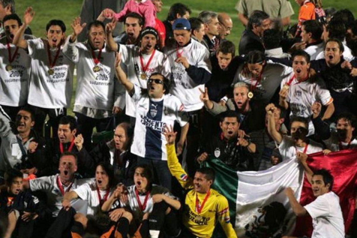 Y en 2006 ganaron la Copa Sudamericana Foto:Getty Images