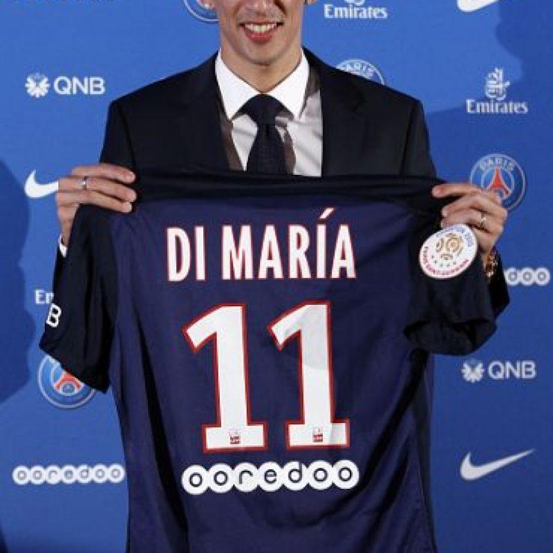 22. Ángel Di María – 63 millones de euros (2015). Foto:Getty Images