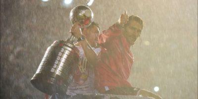 """Este 5 de agosto, River Plate se impuso a los Tigres en el """"Monumental"""" y ganaron la tercera Copa Libertadores de su historia. Foto:Getty Images"""