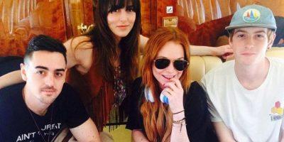 """FOTOS: Así lucen ahora los """"hermanitos"""" de Lindsay Lohan"""