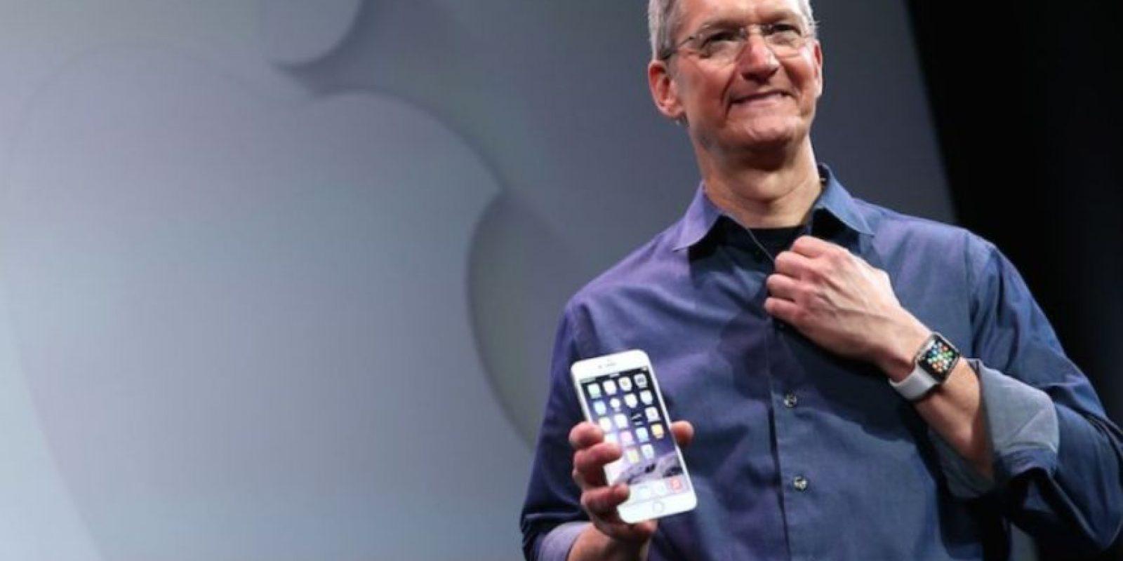 Apple no escatima recursos en la seguridad de su CEO. Foto:Getty Images