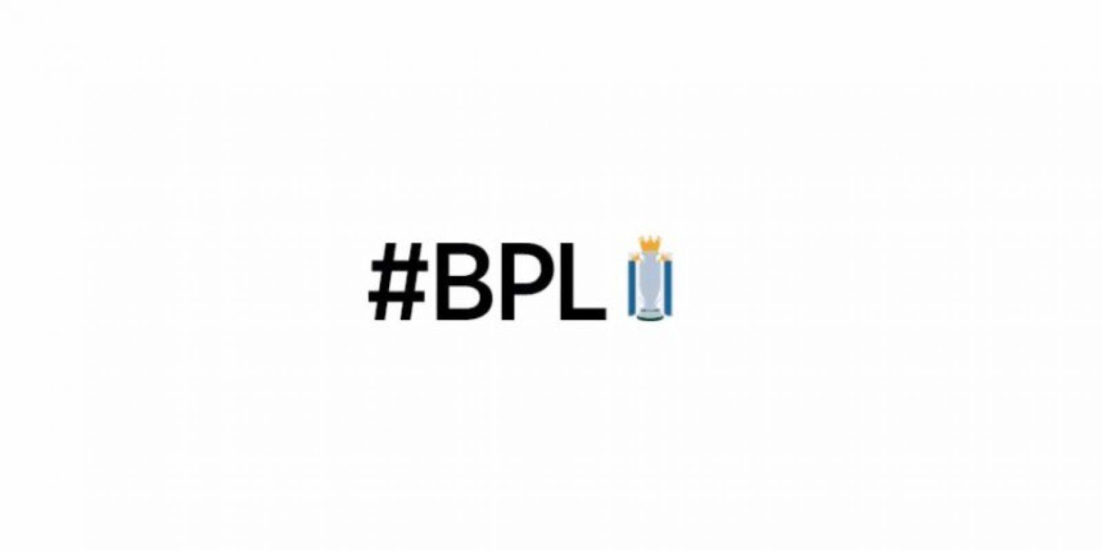 Emoji de la Barclays Premier League. Foto:Twitter