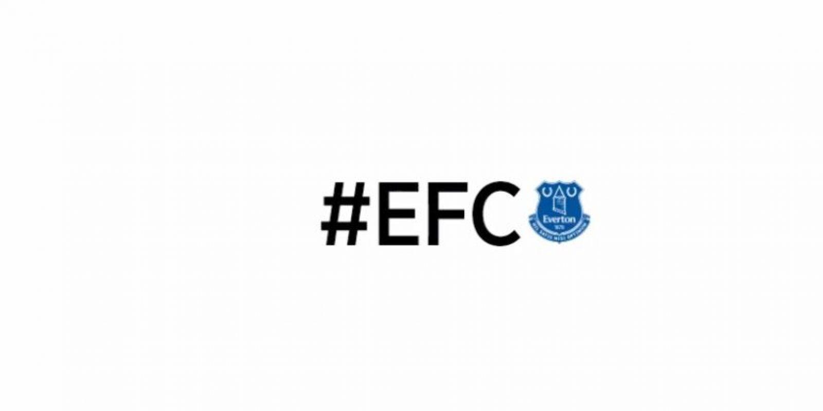 Everton. Foto:Twitter