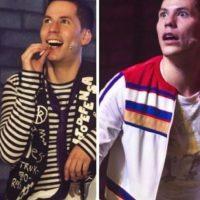 """Interpretó a """"Colate"""", un joven músico adicto a la droga y enfermo de SIDA. Foto:vía instagram.com/christianchavezreal"""