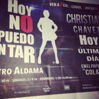 """En 2007, participó en la obra musical """"Hoy No Me Puedo Levantar"""" de Nacho Cano."""