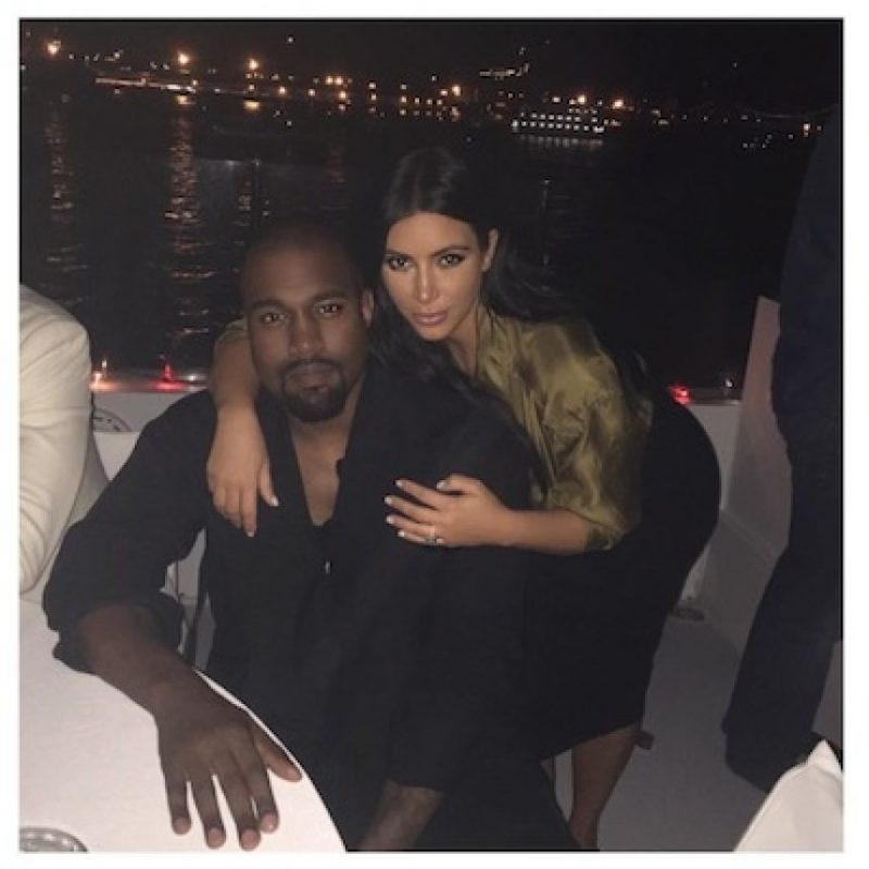 Kim Kardashian y Kanye West esperan ansiosos la llegada de su segundo bebé. Foto:Instagram/KimKardashian