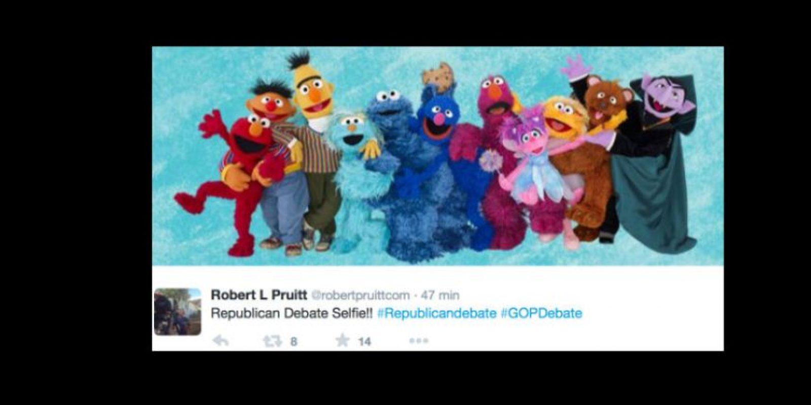 A otros no les gustó el cariz del debate. Foto:vía Twitter