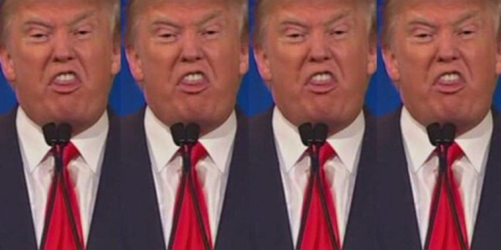 Sí, no solo Donald Trump fue la estrella. Foto:vía Twitter