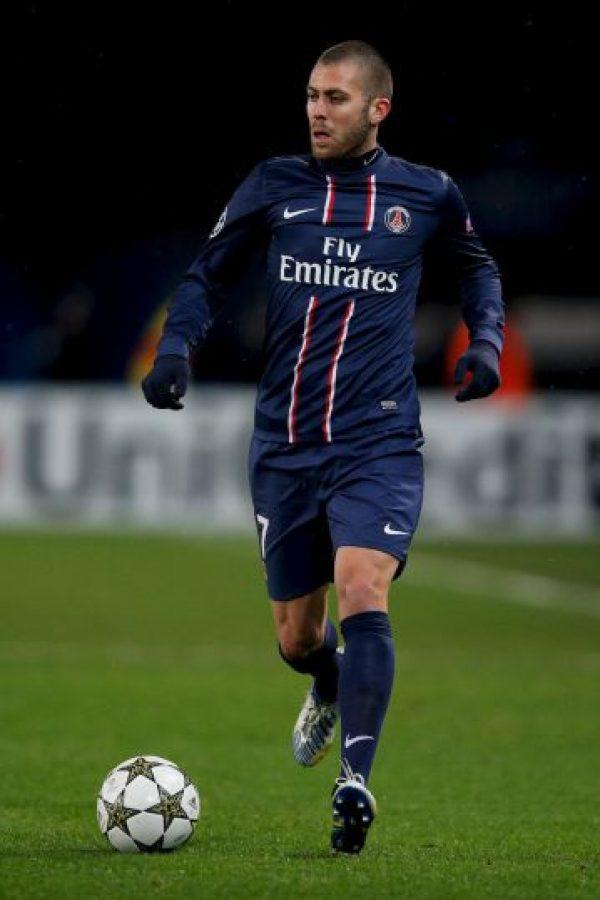 4. Jéremy Menez – 8 millones de euros (2011). Foto:Getty Images