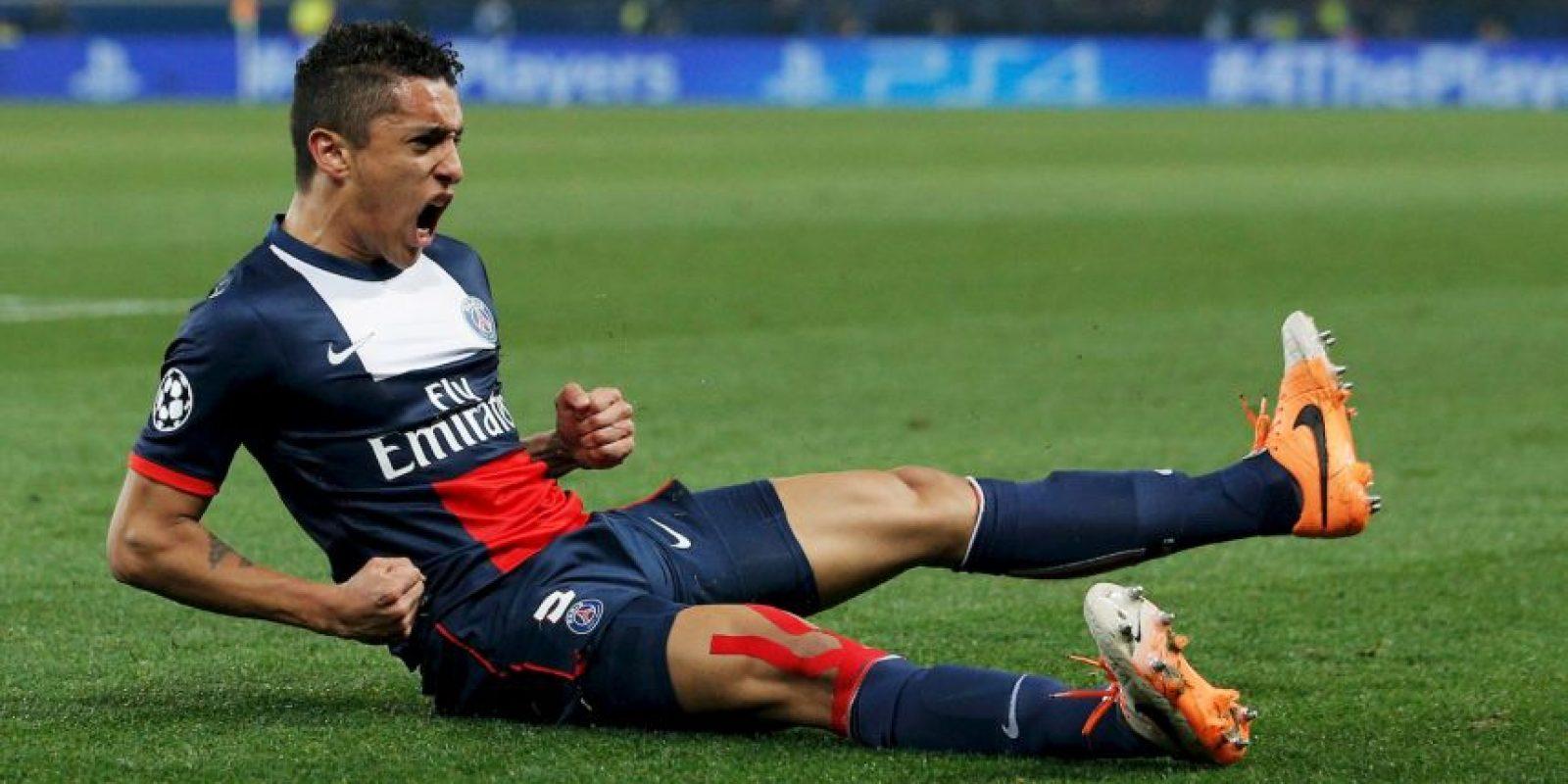 17. Marquinhos – 31.4 millones de euros (2013). Foto:Getty Images