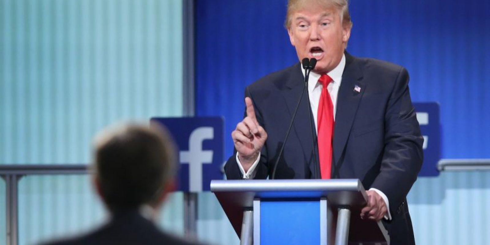 Este jueves se realizó el primer debate de los precandidatos del Partido Republicano a la presidencia de Estados Unidos. Foto:Getty Images