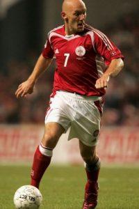El retirado jugador danés militó en clubes como el Hamburgo, Real Madrid, Celtic y Everton. Foto:Getty Images