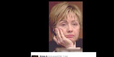 Ella también anunció a sus colaboradores no ver el debate. Foto:vía Twitter