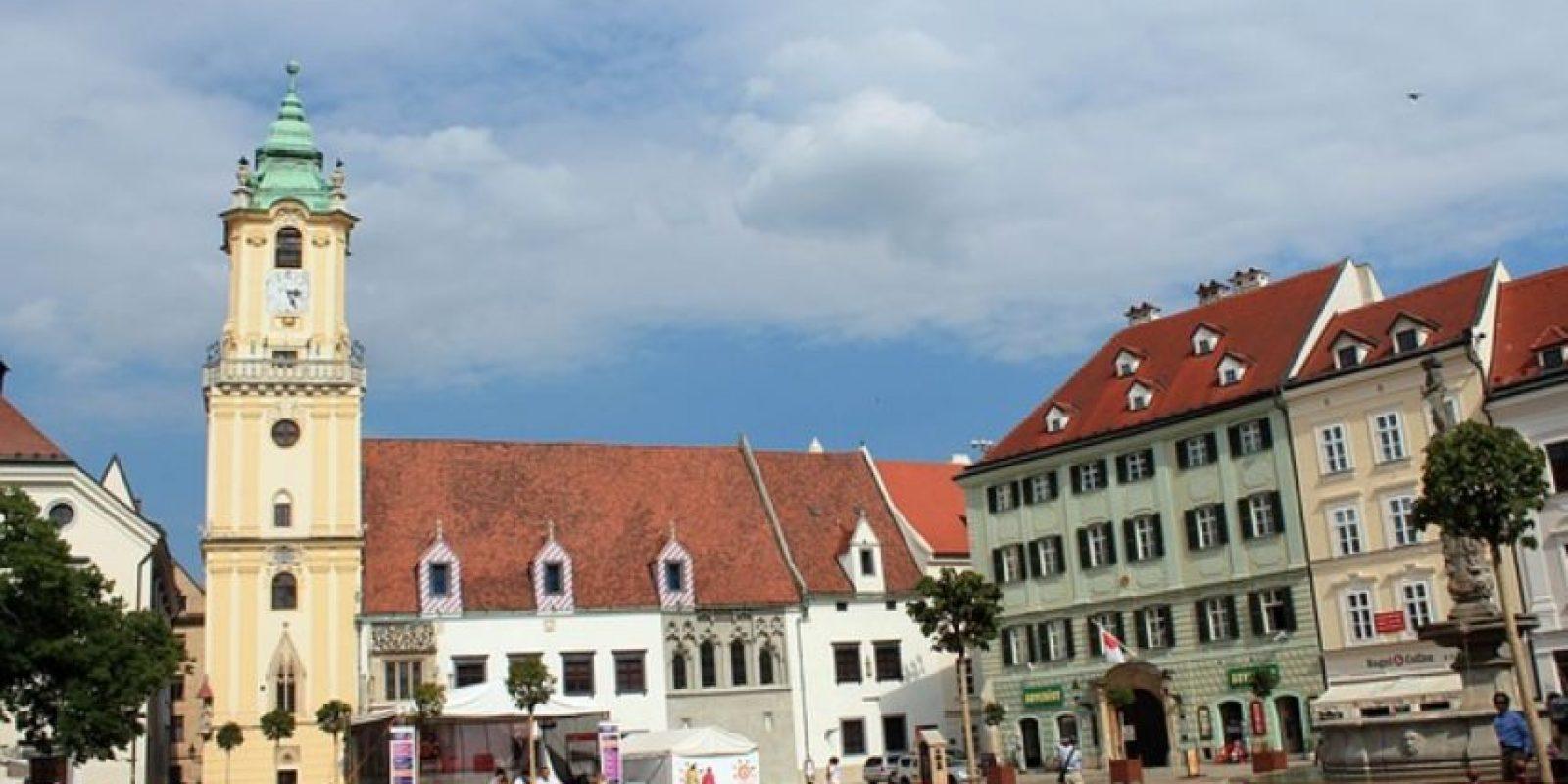 3. En Bratislava, capital de Eslovaquia. Foto:Vía wikimedia.org