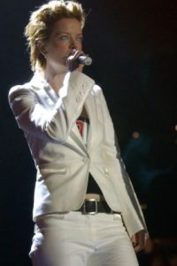 """10. Shirley Manson. La vocalista de """"Garbage"""" no se quedó atrás. Foto:Getty Images"""