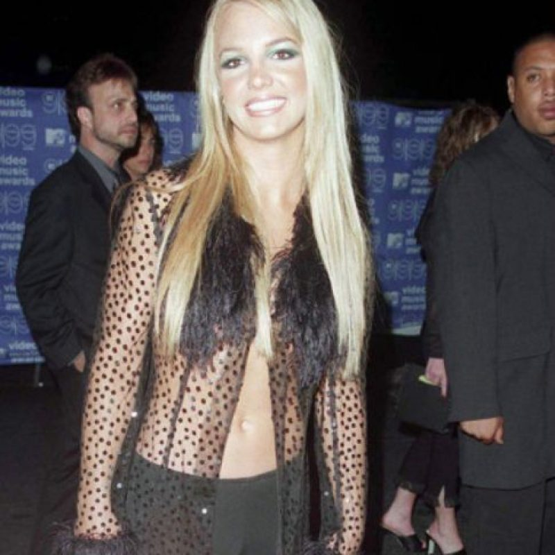 """Britney inspirada """"en la selva"""". Foto:vía Getty Images"""