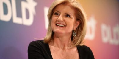 "También atacó a Ariana Huffington, fundadora de ""The Huffington Post"". Foto:vía Getty Images"