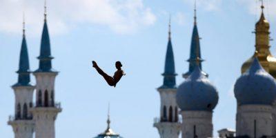 Atleta en el Campeonato Mundial FINA 2015. Foto:AFP
