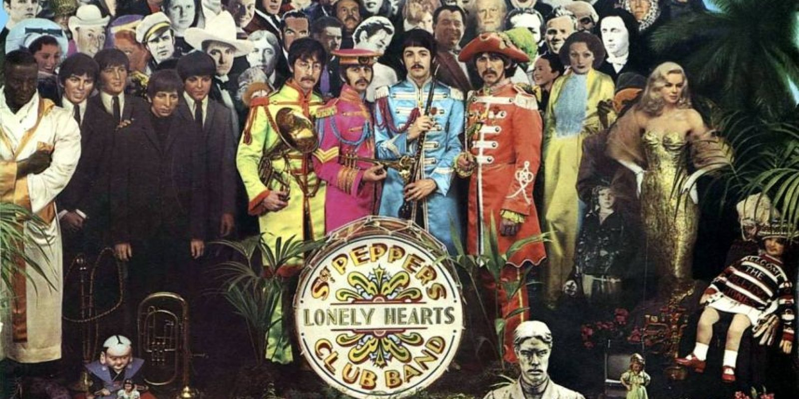 "El álbum ""Sgt. Pepper's"" era ""un revoltijo de basura"", declaró Richards. Foto: Pinterest"