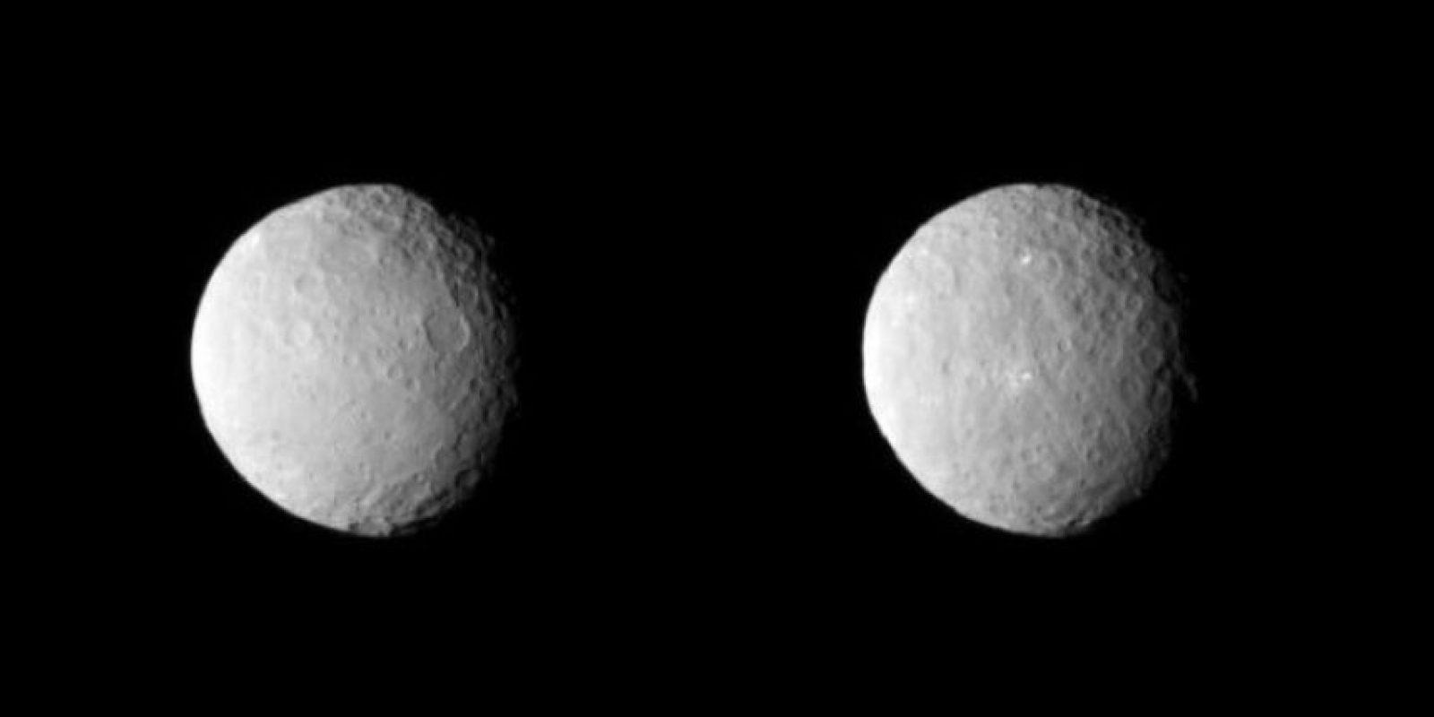 A pesar de que originalmente fue descrito como un planeta, Ceres fue luego categorizado como un asteroide, y después se lo reclasificó como un planeta enano, en el año 2006 Foto:NASA