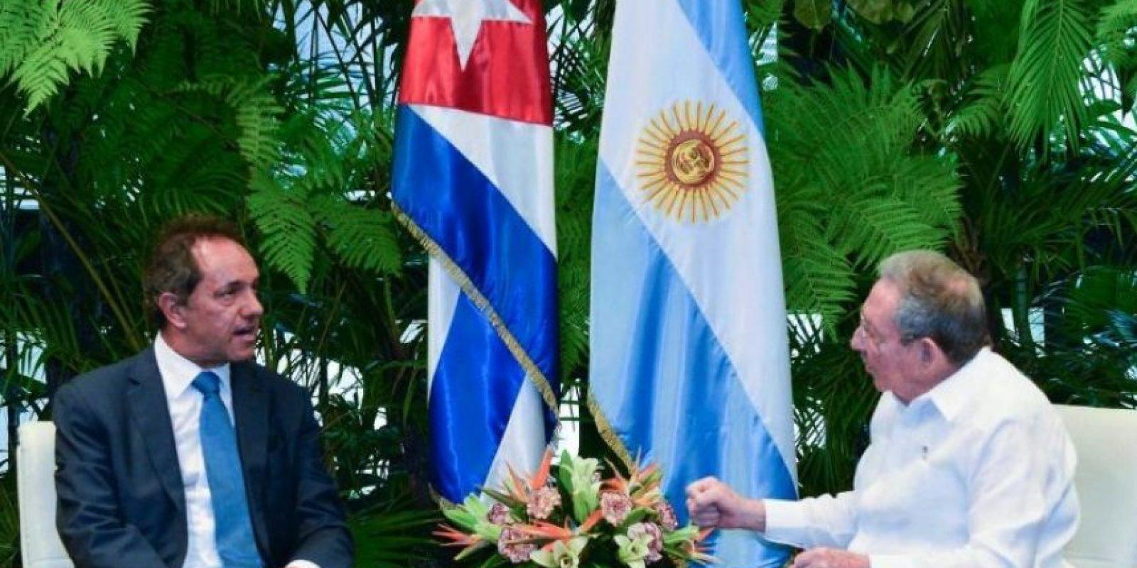 Gobernador de la provincia de Buenos Aires Foto:Facebook.com/danielsciolioficial