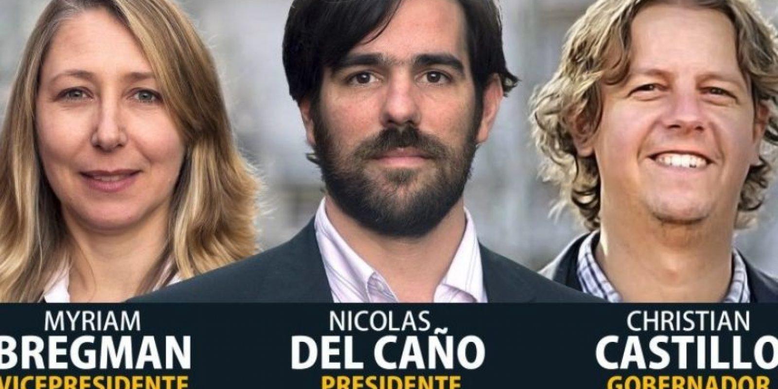 """Nicolás del Caño – """"Frente de Izquierda y los Trabajadores"""" Foto:facebook.com/NicolasDelCano.PTS"""