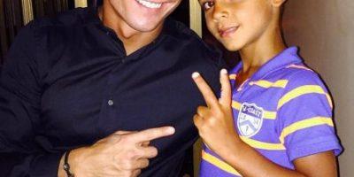 20 fotos que demuestran que Cristiano Ronaldo en un gran papá