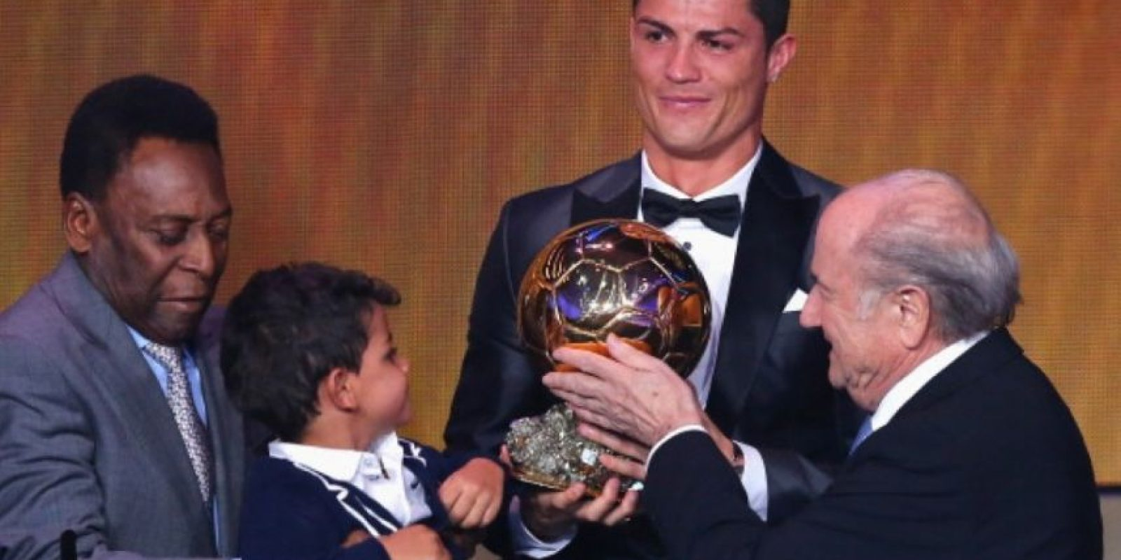 Cristiano lo hace parte de sus logros personales. Foto:Getty Images