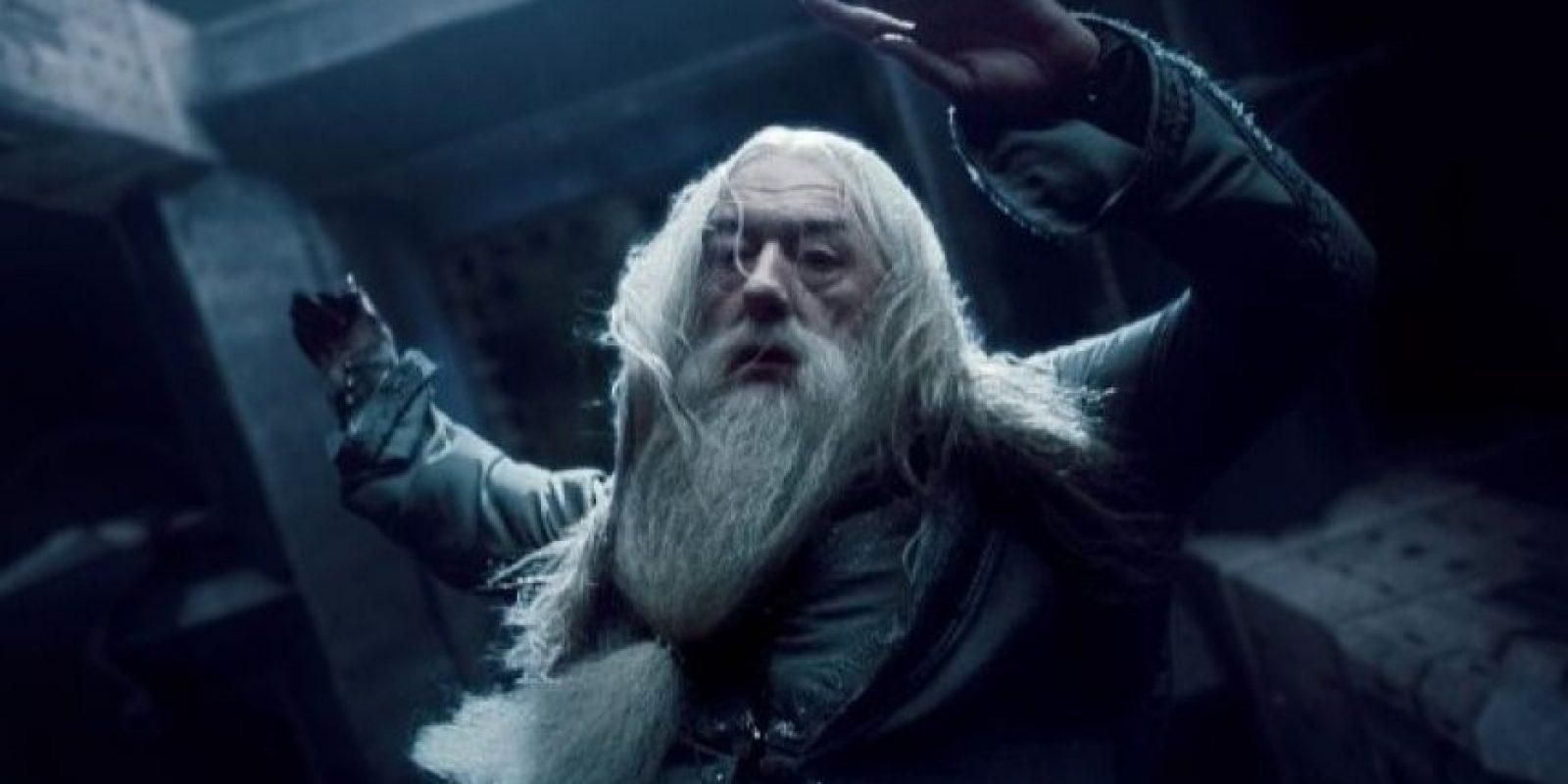 """La Muerte sería """"Dumbledore"""", ya que tuvo en su poder, aunque no al mismo tiempo, las famosas """"Reliquias de la Muerte"""". Foto:IMDb"""