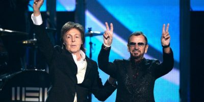 Paul McCartney y Ringo Starr Foto: Getty Images