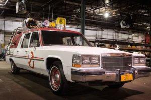 Este será el auto que el equipo de las parasicólogas utilizará en el nuevo filme. Foto:Twitter/Paulfeig