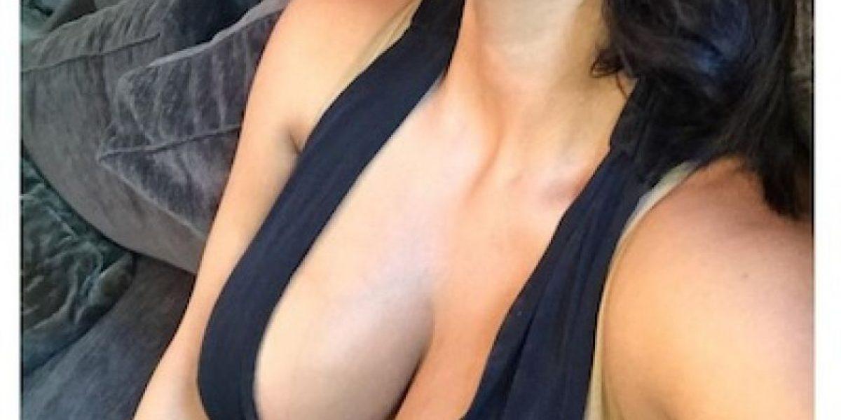 Kim Kardashian sorprende a sus fans con pronunciado escote en Instagram