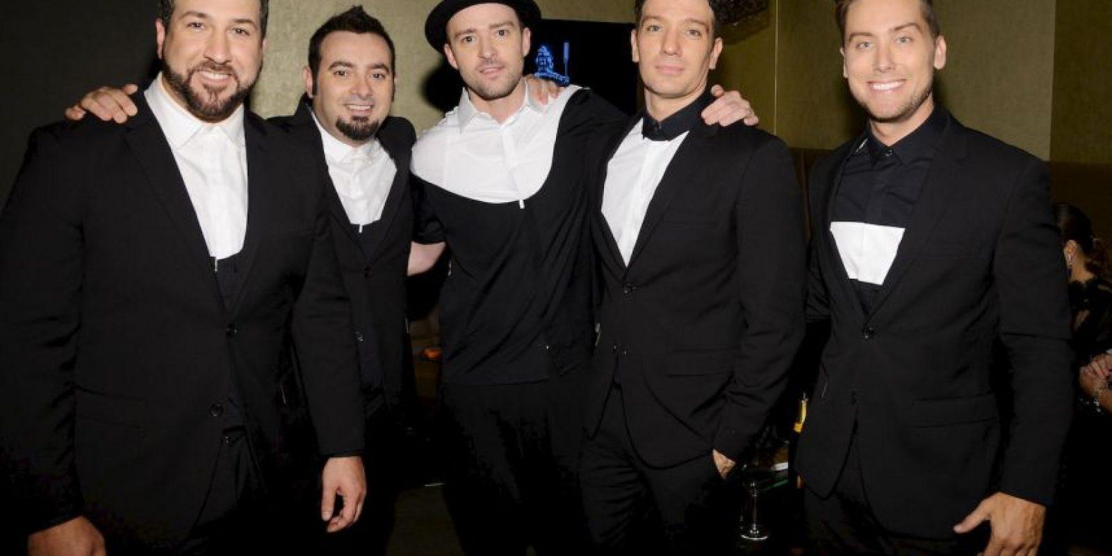 La reunión ocurrió en los MTV VMA Foto:Getty Images