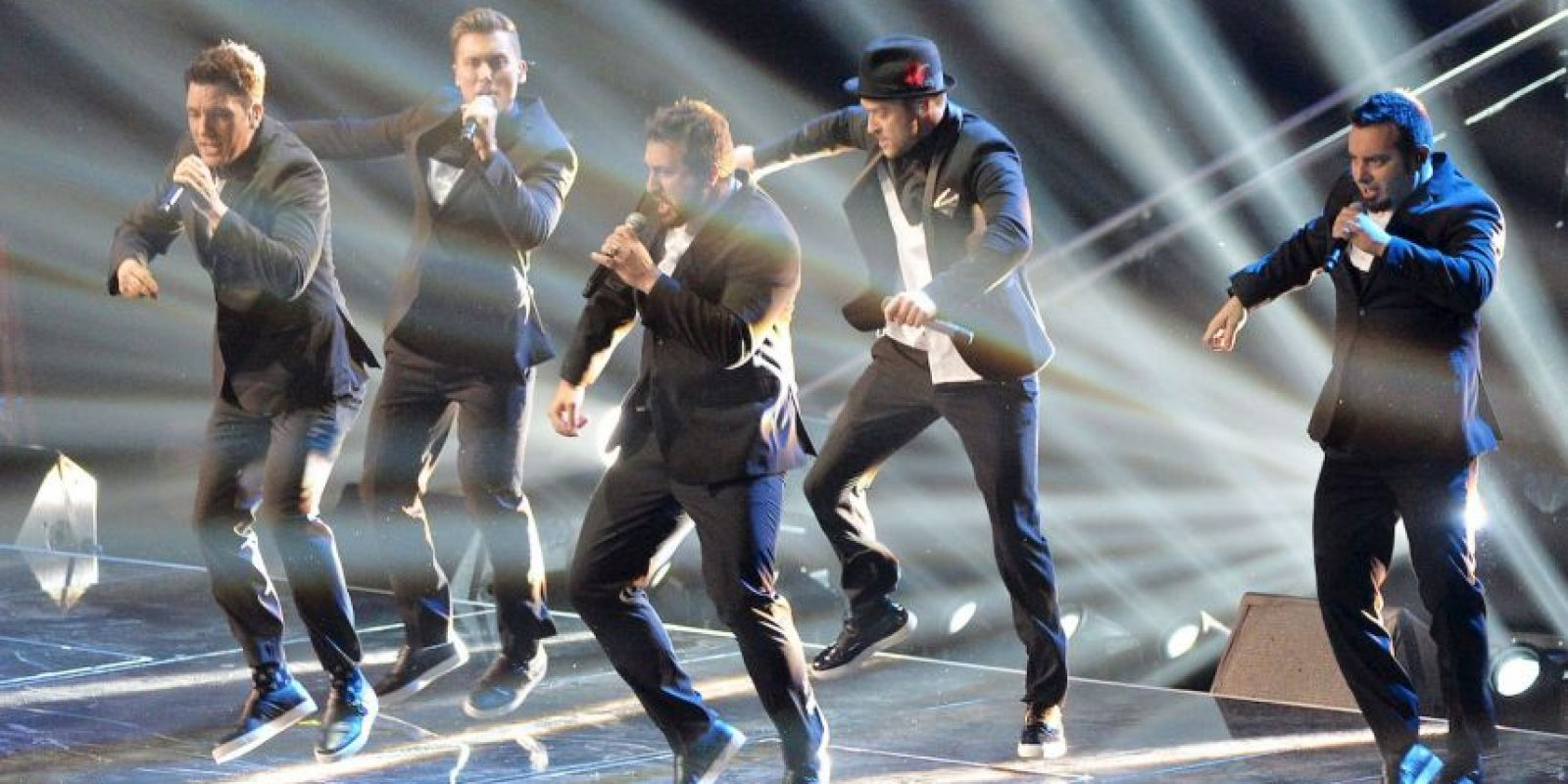*N Sync se reunió en 2013 Foto: Getty Images