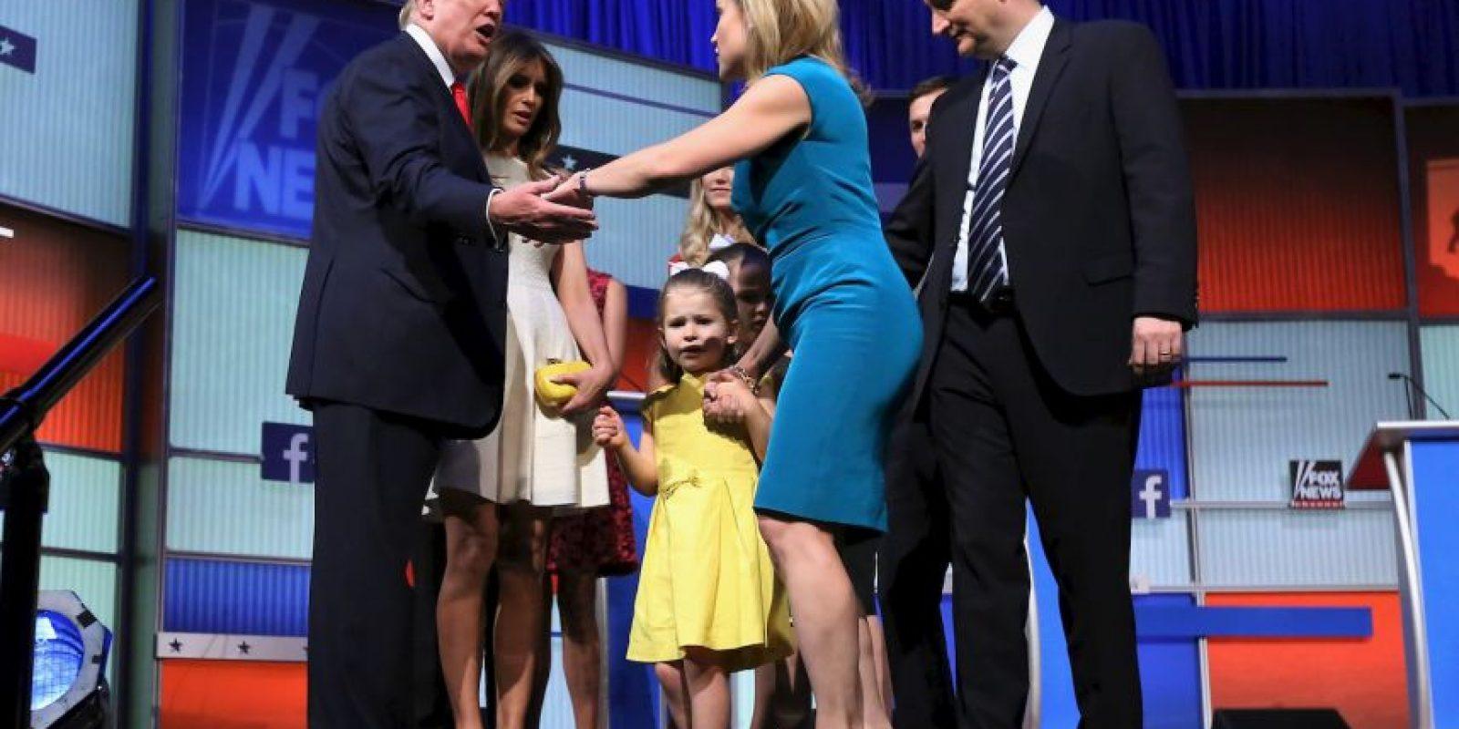 El 23% de los partidarios republicanos votarían por Trump. Le sigue Ted Cruz con el 13%, Ben Carson con el 11% y Carly Fiorina y Marco Rubio con el 8%. Foto:Getty Images