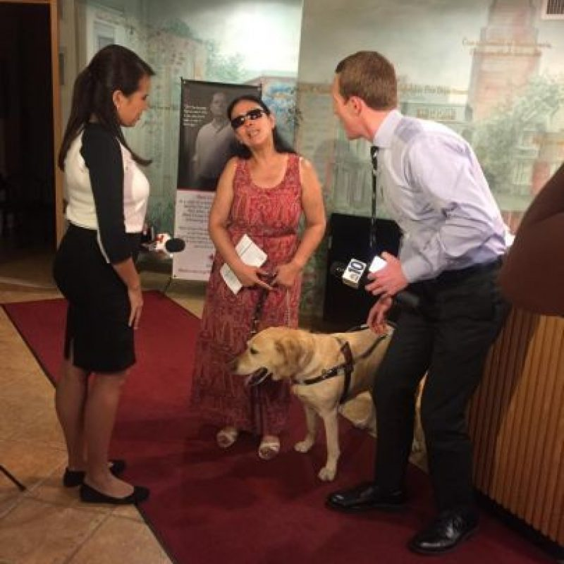 """Su historia fue compartida por la organización """"Red Paw Emergency Relief Team"""" Foto:Facebook.com/redpawteam"""