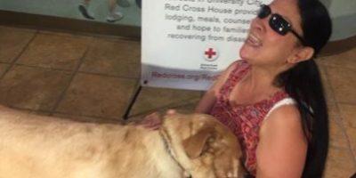 La mascota de esta mujer ciega la salvó de morir llamando al 911