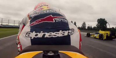 Pedrosa puso todo su empeño y esfuerzo. Foto:MotoGP