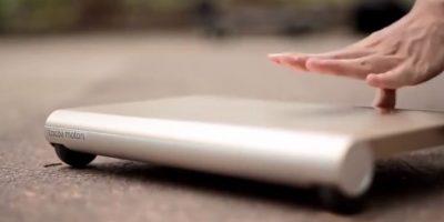 """VIDEO: Este podría ser el """"skateboard"""" perfecto"""