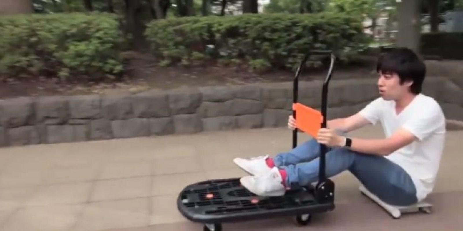 El dispositivo también puede emplearse como transporte de carga Foto:cocoa motors.Inc.