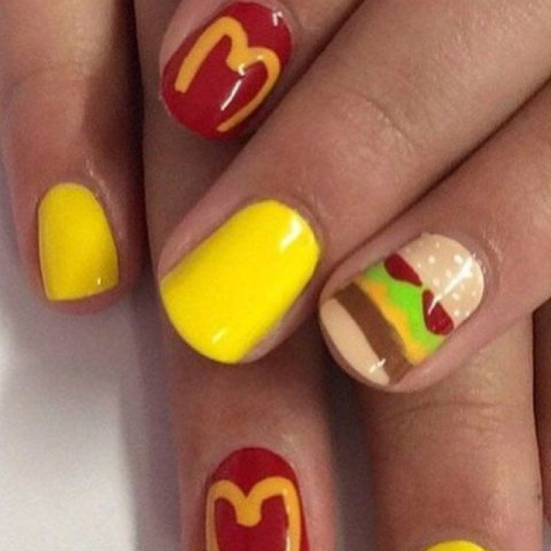 14. Quería demostar su amor por la comida rápida Foto:Vía Instagram