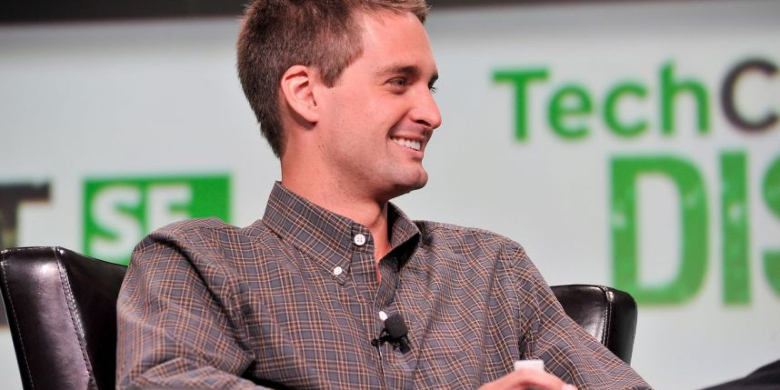 La fortuna del creador de esta app, Evan Spiegel, asciende a mil 500 millones de dólares. Solo tiene 24 años Foto:Getty Images
