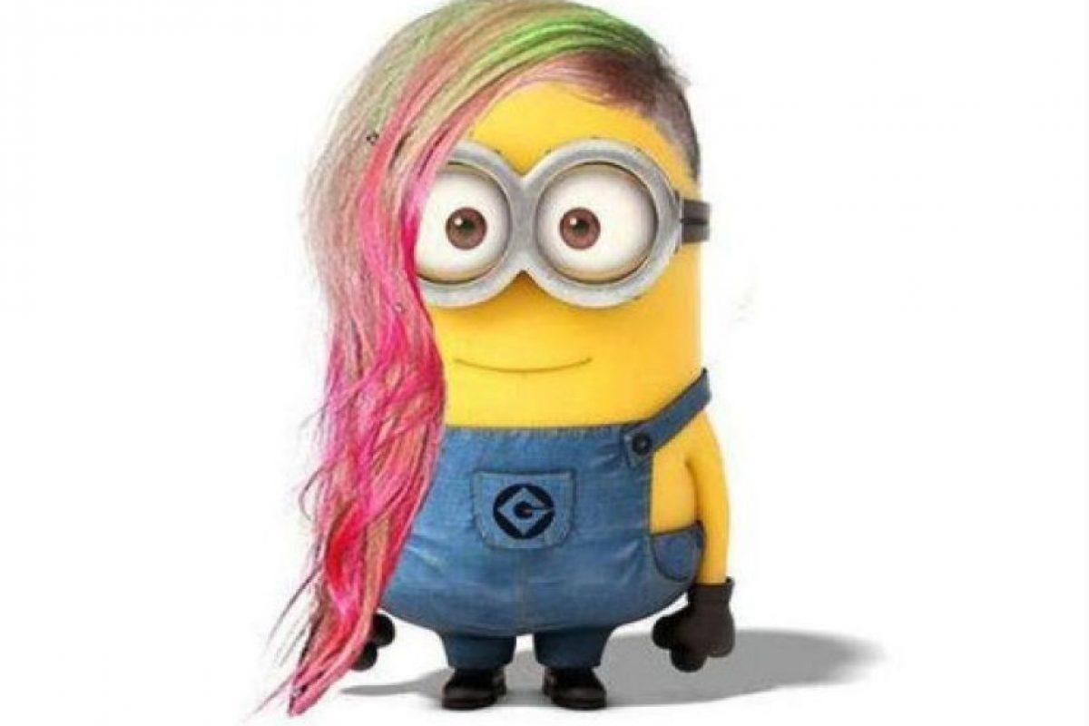 Avril Lavigne Foto:vía twitter.com/KennedyP_13