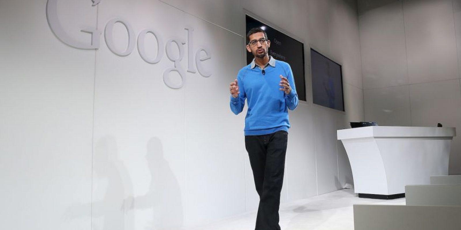 Pichai se unió a Google en 2004 donde lideró los esfuerzos de innovación para un conjunto de productos de software. Foto:Getty Images