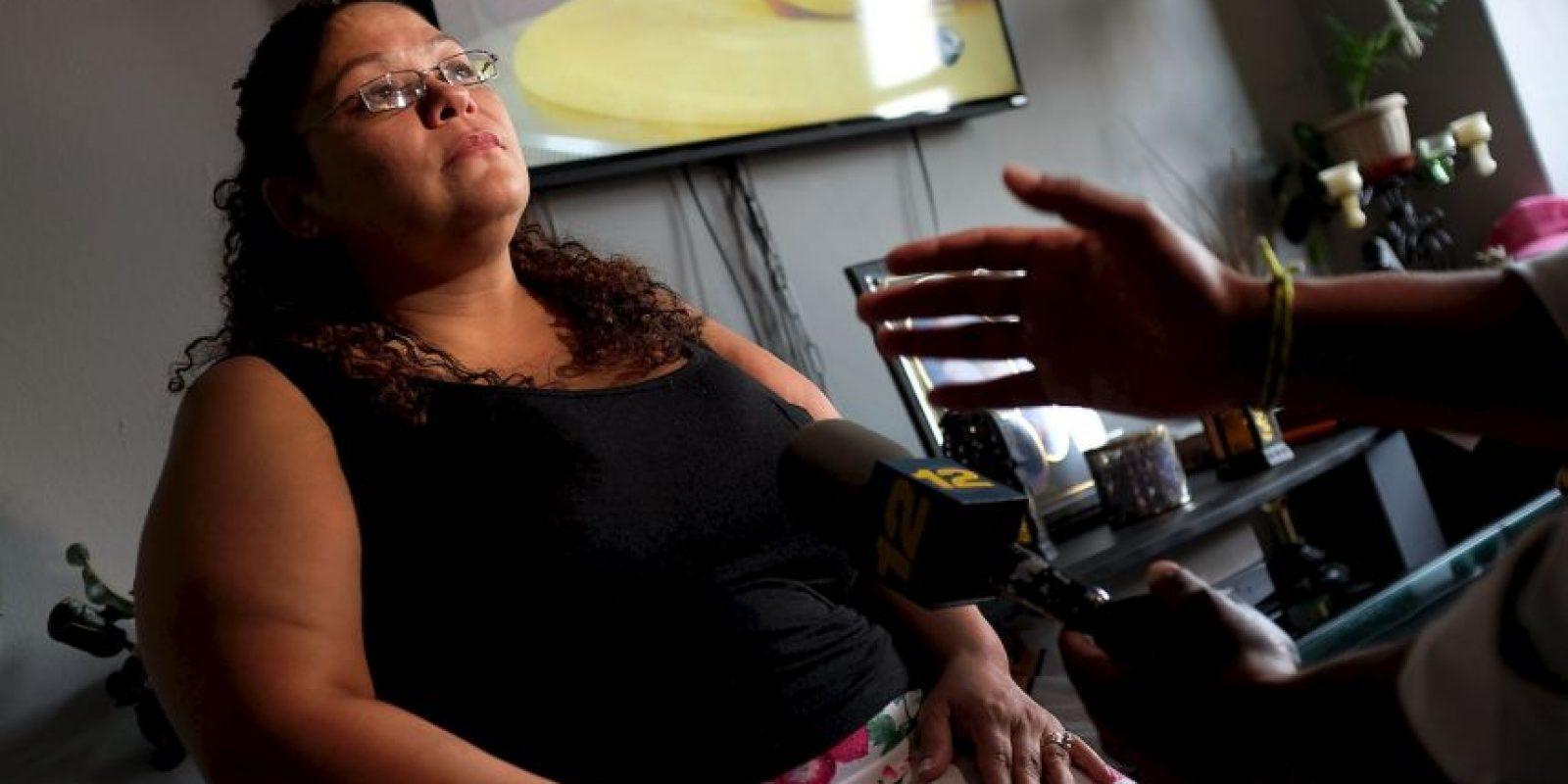 Carmen Ramírez, quien perdió a su padre a causa de la enfermedad. Foto:Getty Images