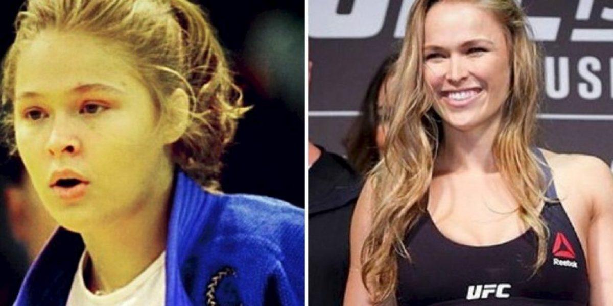FOTOS: Así ha cambiado Ronda Rousey, la campeona de la UFC