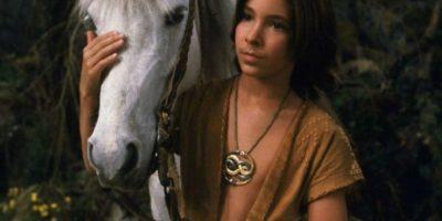 En la primera película protagonizó una desgarradora escena al tener que dejar morir a su caballo en un pantano. Foto:vía Warner Bros